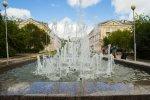 Городской фонтан запущен после ремонта
