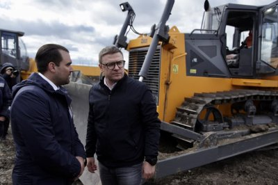 Губернатор Челябинской области Алексей Текслер посетил выставку «СтройДорЭкспо - 2021»